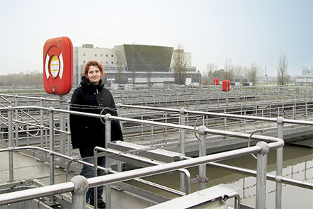 Lusia Schenk im Kärwerk
