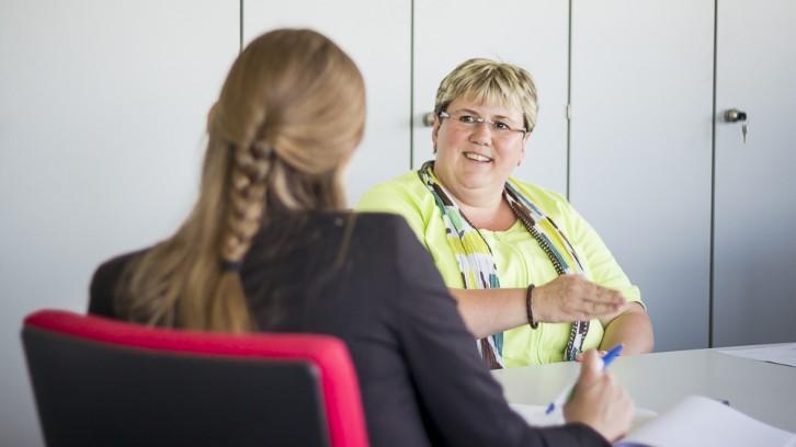Interview zwischen Katharina Goergens und der Leiterin des Wasserwerks
