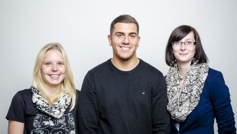 Gruppenfoto Bürokaufleute