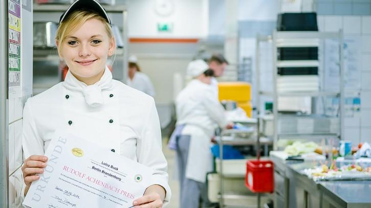 Luisa Buck in der Küche