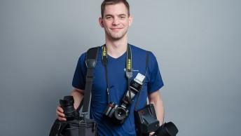 Paul als Fotograf