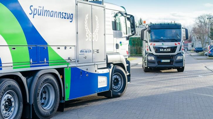 Berliner Wasserbetriebe erhalten neue Spezialfahrzeuge