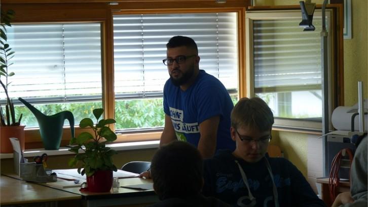 Ein Tag als Schülerbotschafter