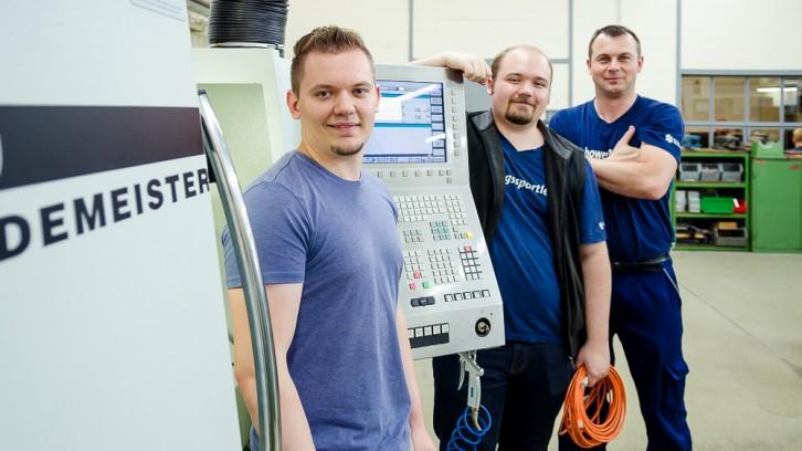 Gruppenfoto IT-Systemelektroniker