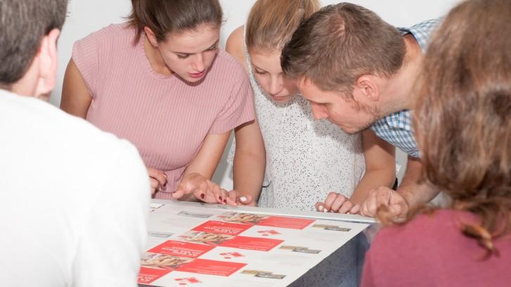 Auszubildende im PieReg Druckcenter Berlin