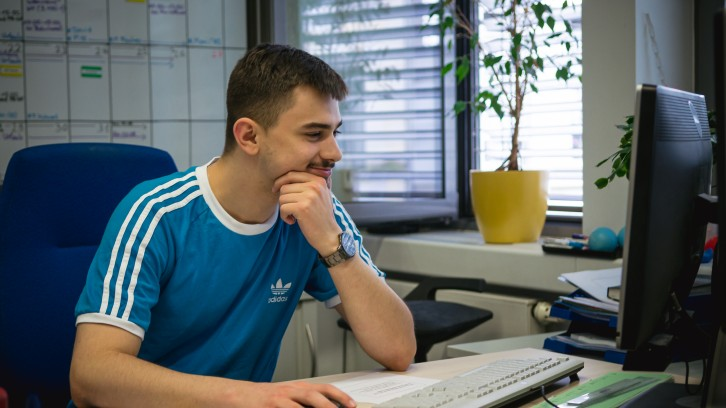 David Kessler im Büro