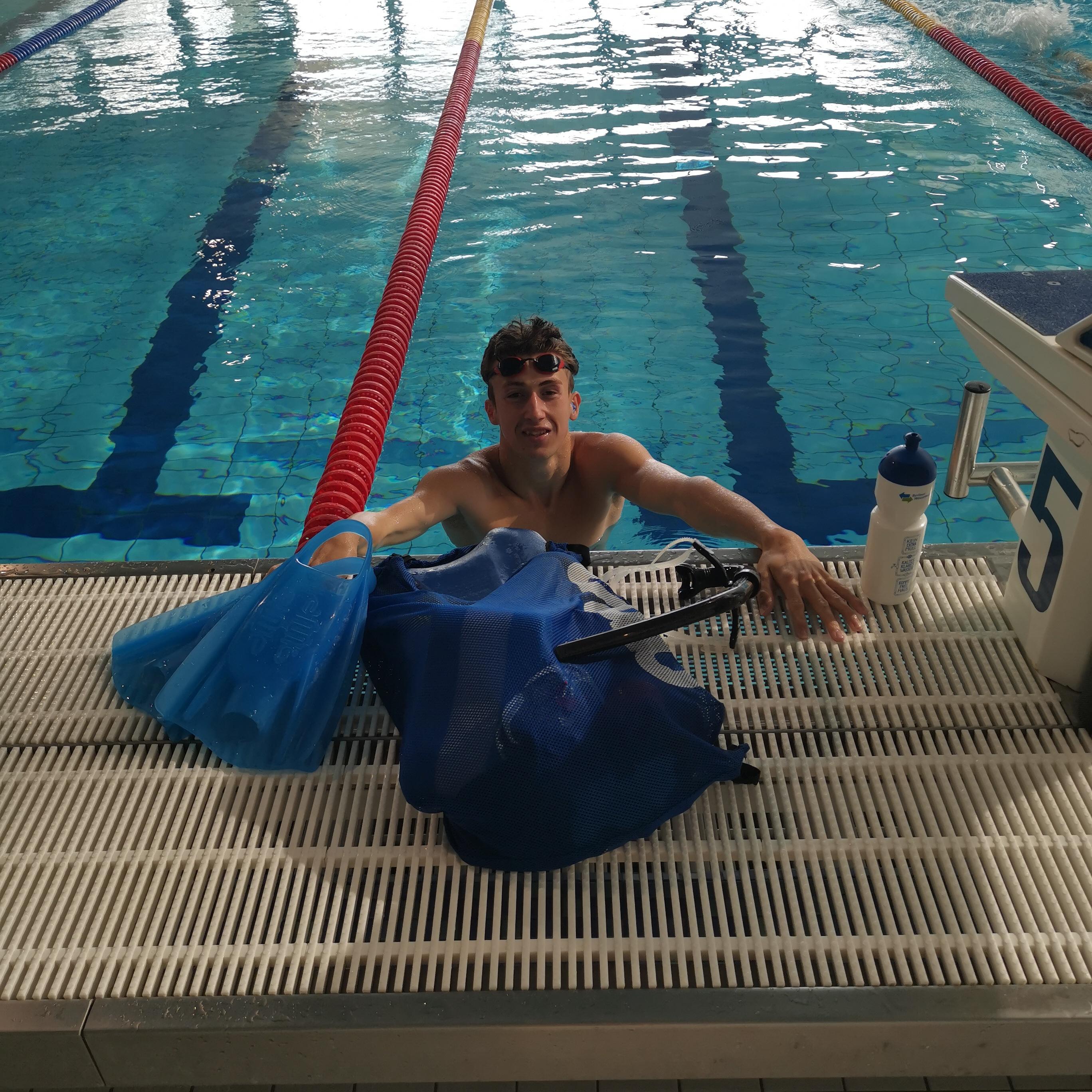 Unser Student & Leistungssportler Malte