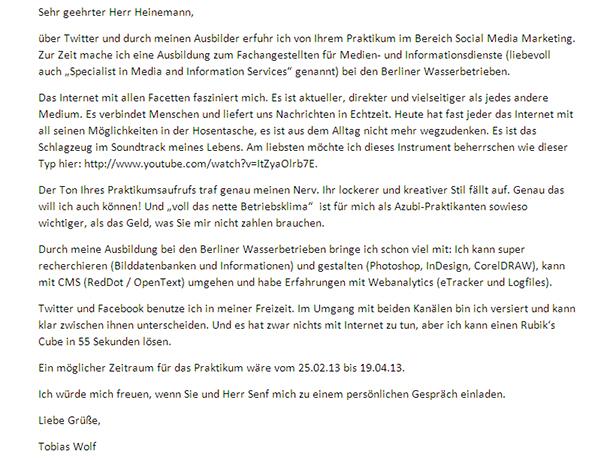 Berliner Wasserbetriebe   Overlayseite SENF.heinemann